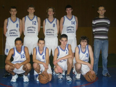 Les cadets du basket-club CSSPP Waldighoffen