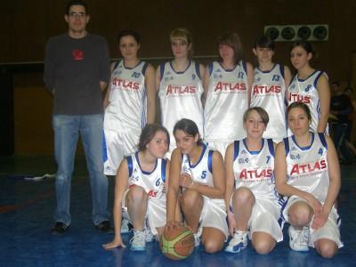 Les cadettes du basket-club CSSPP Waldighoffen