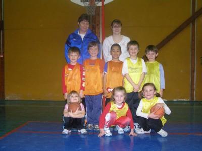 le baby-basket au basket-club CSSPP Waldighoffen