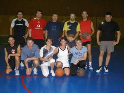 Le groupe du basket-loisir de la saison 2010/2011