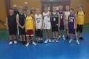 Le groupe des benjamins du basket-club CSSPP Waldighoffen de la saison 2011/2012