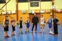 Le groupe des benjamins du basket-club CSSPP Waldighoffen de la saison 2016/2017.