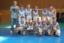 Les benjamins du basket-club CSSPP Waldighoffen de la saison 2011/2012.