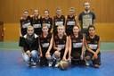 L'équipe des minimes féminines 1 saison 2013/2014.