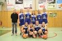 L'équipe des minimes filles du basket-club CSSPP Waldighoffen de la saison 2017/2018.