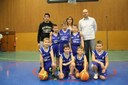L'équipe des poussins du basket-club CSSPP Waldighoffen de la saison 2014/2015.