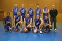 L'équipe des seniors garçons du basket-club CSSPP Waldighoffen 2013/2014.