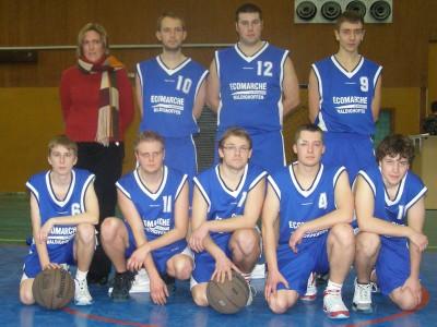 les seniors garçons 2 du CSSPP Waldighoffen 2009/2010