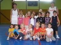 le groupe des babys du basket-club CSSPP Waldighoffen.