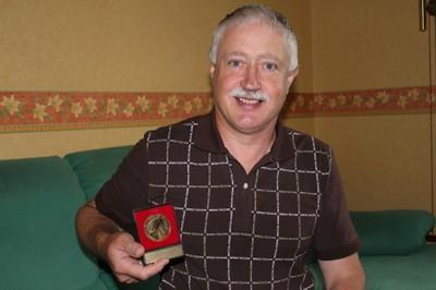 Médaille de la reconnaissance de la ligue d'Alsace de basket.