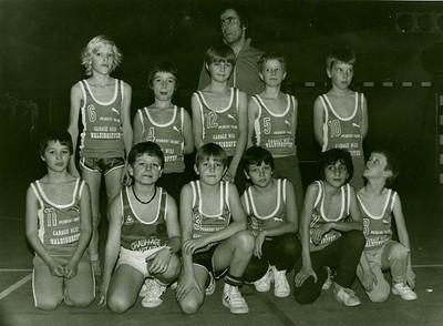 Les poussins de la saison 83/84.