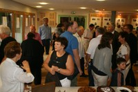 Bin Ich Das 2011 - la salle pleine de visiteurs