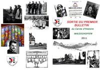 Présentation 1er bulletin cercle d'histoire 2011