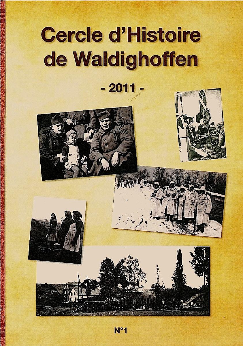 Couverture livre 2011 Cercle d'Histoire de Waldighoffen