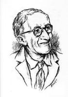 Nathan Katz Dessin de Eugène Henri Cordier