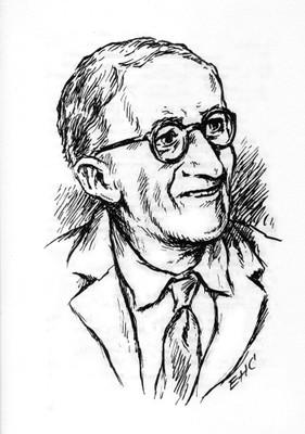 Nathan Katz dessin de Eugene Henri Cordier