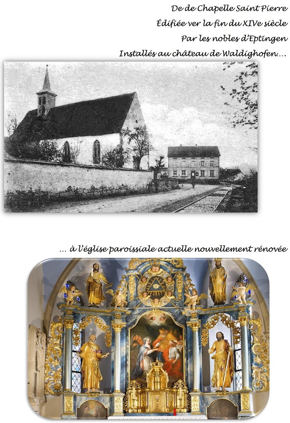 L'Eglise dans bulletin 2