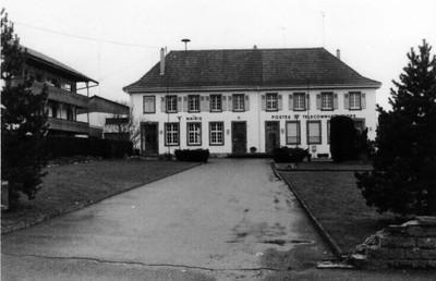 construction de l'Hôtel de la Poste