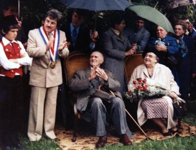 Inauguration de la Salle Polyvalente par N. Katz