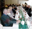 Le repas de la fête de Noël du Club des Gens Heureux