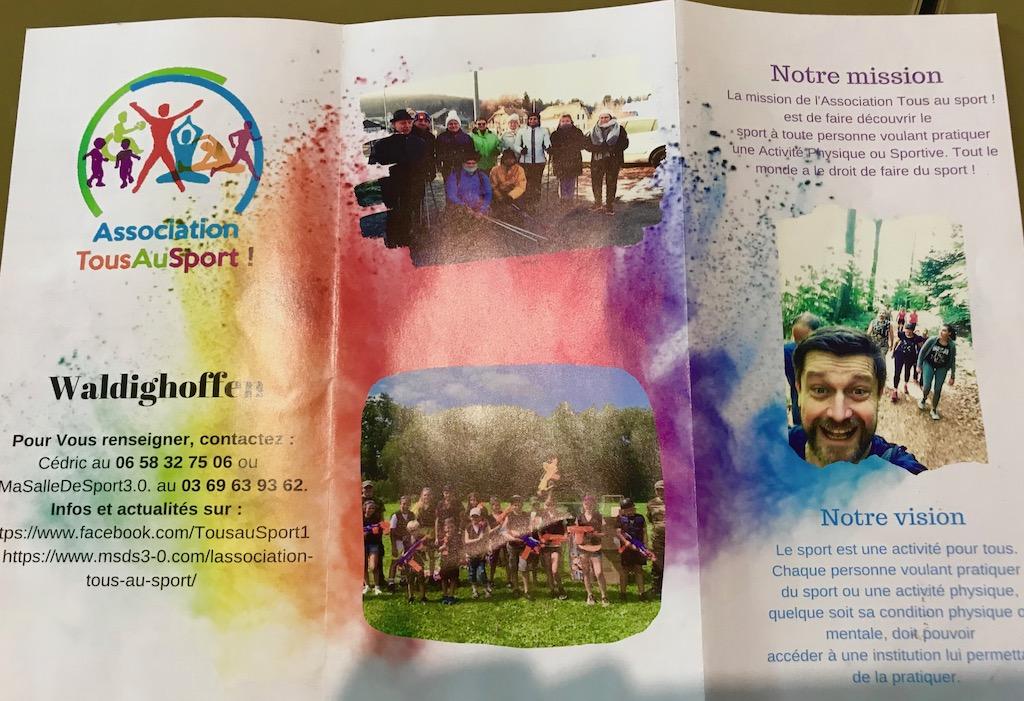 Brochure Tous au Sport 2019-2020 p1