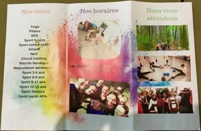Brochure Tous au Sport 2019-2020 p2