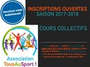 Inscription Tous au Sport 2017
