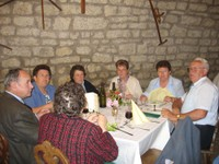 Repas - Mme Gussy 30 ans section UNC Waldighoffen