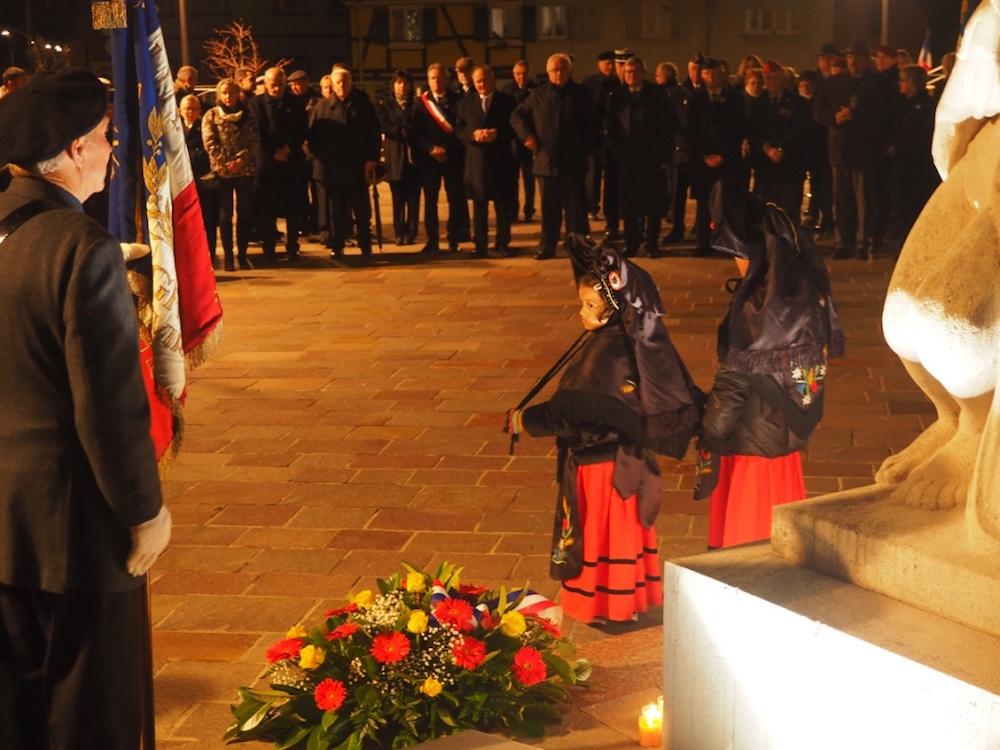Cérémonie du 11 novembre 2016 - alsaciennes