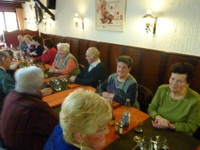 Repas amical 2010 - salle droite