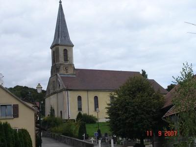 Photo église de Roppentzwiller