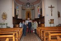 L'évêque, le Vicaire Episcopal et le curé-Création Communauté de paroisses St Eloi Fessenheim