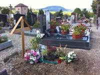 Le Père Lichtlé est enterré au cimetière de Bergheim