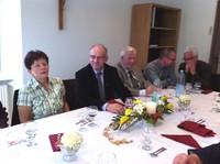 Repas au presbytère avec l'EAP-5