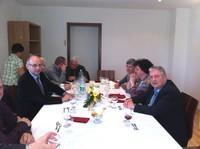 Repas au presbytère avec l'EAP-6