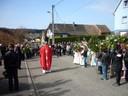 2012-04-01 - Procession des rameaux à Waldighoffen vue depuis le haut de la rue de Willer