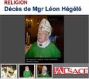 Décès de Monseigneur Hégélé