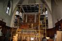 2013/02/12 Echafaudage autour autel