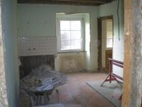 Presbytère Waldighoffen ancienne cuisine pendant travaux