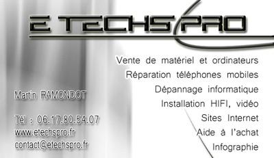 Carte De Visite E Techs