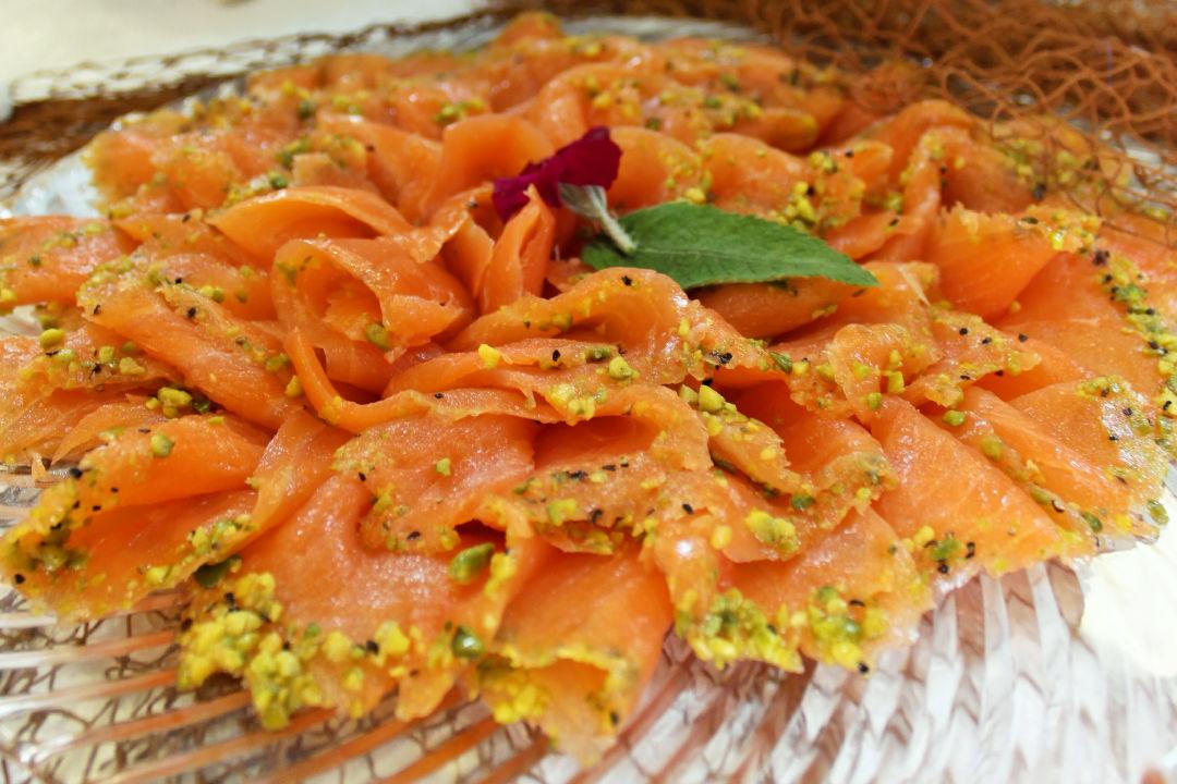 Connu Assiette de saumon fumé — Waldighoffen IS51