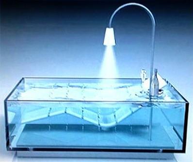 salle de bain du futur future is now domotique robotique une salle de bain futuriste moderne. Black Bedroom Furniture Sets. Home Design Ideas