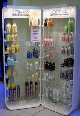 L'Oréal au salon de coiffure Idéal'Tiff
