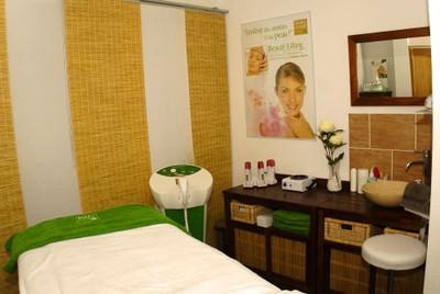 Cabine de massage chez Secrets de Beauté à Waldighoffen