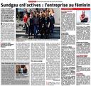 2020/03/04 - L'Alsace - Les Femmes ont du talent