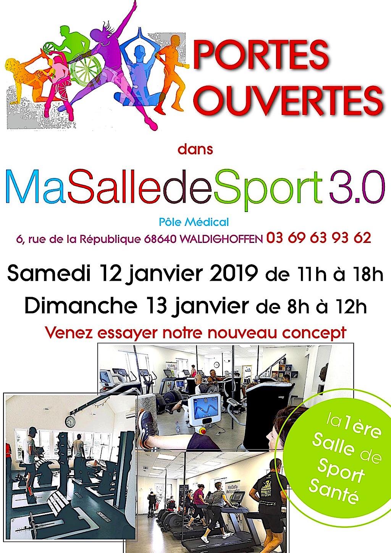 Portes ouvertes Ma Salle de Sport 3.0-2019