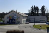 Le bâtiment des Ets Heinis à Waldighoffen