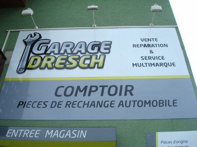 Enseigne du Garage du Carrefour à Waldighoffen