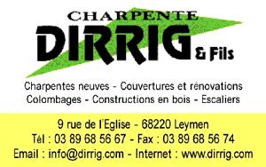 Charpente Dirrig & Fils à Leymen