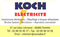 Koch Électricité à Ferrette